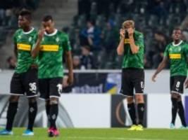 Europa League: Riesenblamage für Gladbach, Wolfsburg siegt