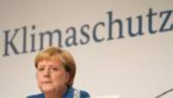 Klimapaket: Angela Merkel spricht sich deutlich für Klimaschutz aus