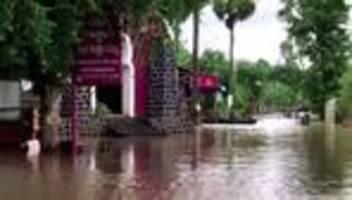 Unwetter: Tote nach Überflutungen in Kambodscha