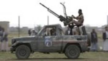 Jemen: Huthis wollen Angriffe auf Saudi-Arabien einstellen