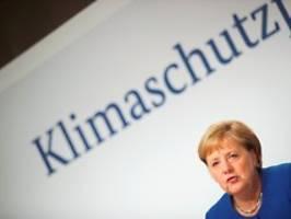 Kanzlerin verteidigt Maßnahmen: Merkel: Klimapaket ist das, was möglich ist