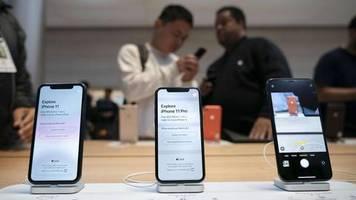 weltweites schlange stehen: verkaufsstart für iphone 11: apple-fans stürmen geschäfte