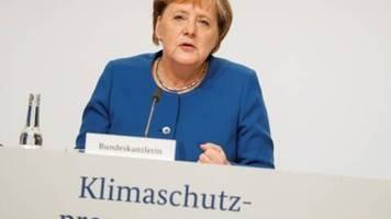 Merkel sieht mit Klima-Paket die Grundlagen für Erreichen der Klimaziele gegeben