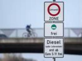 diesel-fahrverbote können nicht durchgesetzt werden