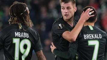 Europa League: Wolfsburg rettet Bundesliga-Bilanz: «Keine einfachen Spiele»