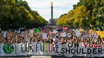 Mehr als eine Million Menschen bei neuem bundesweiten Klimastreik auf der Straße