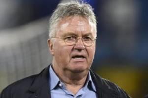 Ex-Chelsea-Coach: Guus Hiddink als Nationaltrainer der U21 in China abgelöst