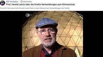 Deutschlands Klima-Strategie: Kampf zwischen Gesäß und Gehirn: Experte Harald Lesch rechnet mit Klima-Nachtsitzung der GroKo ab