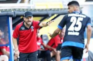 """Bundesliga: Paderborn-Trainer Baumgart: """"Hertha ist ein geiler Verein"""""""