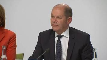 Klima-Paket der Bundesregierung: Scholz: Mit dem Klimaschutzpaket machen wir Ernst