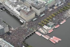 Klima: Blockadeaktionen in Hamburg nach Ende der Klimademo