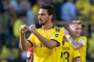 Vor Partie gegen Frankfurt: BVB dank Hummels im Aufwind