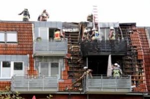 Norderstedt: Großfeuer zerstört vier Wohnungen in Norderstedt