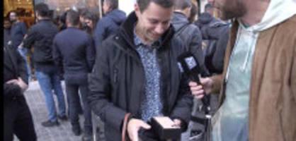 iphone-release: «ich packe das iphone für euch aus!»