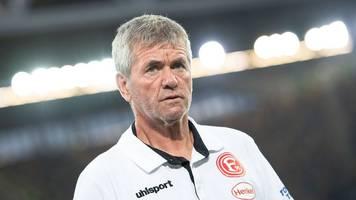 ohne suttner im derby: funkel: gladbach-pleite ohne belang