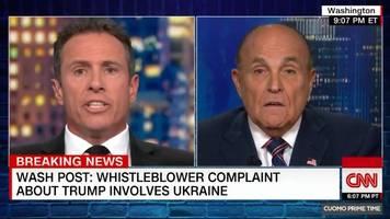 Anwalt von Donald Trump: Rudy Giuliani – irres Interview bei CNN