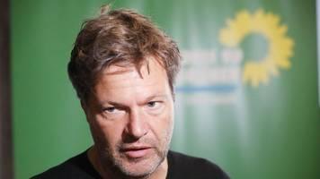 Habeck rechnet mit gutem Grünen-Ergebnis bei Landtagswahl
