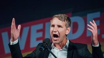 Björn Höcke im Fokus: AfD-Gruppe sieht Anhaltspunkte für Verfassungsfeindlichkeit