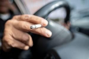 Rauchen am Steuer muss verboten werden