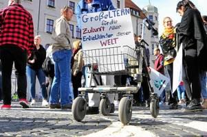 Über 6000 Demonstranten: So lief der große Klima-Protest in Augsburg ab