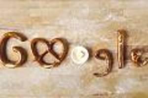 google doodle  - so entstand die brezel der legende nach