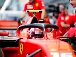 Qualifikation in der Formel 1: Leclerc schnappt sich in Singapur die Pole