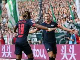 Sieg bei Bremer Not-Elf: RB Leipzig hält souverän die Tabellenspitze