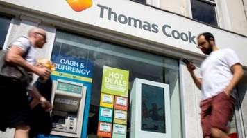 thomas cook hofft vor drohendem bankrott auf rettung durch britischen regierung