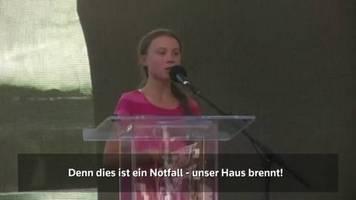 Video: Greta in New York: Unser Haus brennt!