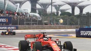 Formel 1: Singapur-Quali: Vettel muss nächsten Dämpfer fürchten