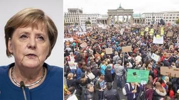 Große Koalition in der Kritik: Merkel: Politik ist das, was möglich ist – Aktivisten unzufrieden mit Klima-Paket