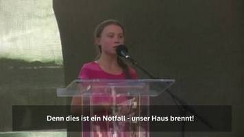 Video: Greta in New York: Unser Haus brennt!