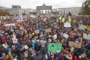 Klima: Grünkohl statt Braunkohle: Mega-Demo für mehr Klimaschutz