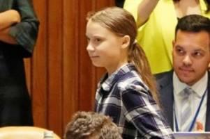 UN-Jugendklimagipfel: Greta Thunberg gibt sich vor Vereinten Nationen kämpferisch