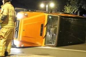 Extra-Runde: Spritztour mit Gäste-SUV: Hotel-Mitarbeiter bauen Unfall