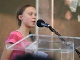 Klimademo in New York: Greta Thunbergs Macht im Financial District
