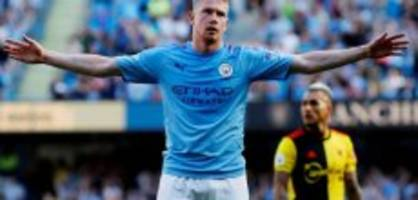 premier league: mancity verpasst rekordsieg nur knapp