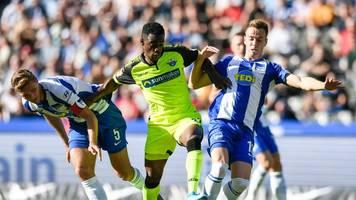 Hertha BSC feiert Saisonsieg: Paderborn Tabellenletzter