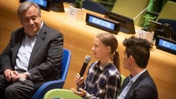 Jugendklimagipfel in New York - Thunberg vor Vereinten Nationen: Uns kann niemand stoppen