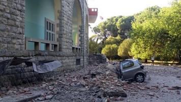 Medien: Dutzende Verletzte: Mehrere Erdbeben erschüttern Albanien