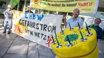 Gegen Ceta und Atomkraftwerk: Proteste beim Grünen-Parteitag