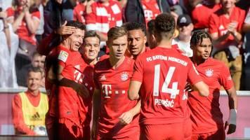 Bundesliga am Samstag: FC Bayern vorerst Tabellenführer - Hertha gewinnt