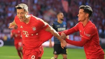 FC Bayern überrollt den 1. FC Köln – Philipe Coutinho und Ivan Perisic treffen