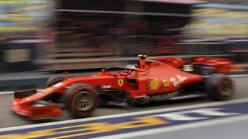 Großer Preis von Singapur: Leclerc im Formel-1-Abschlusstraining vorn