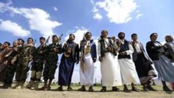 Huthis wollen Angriffe auf Saudi-Arabien einstellen