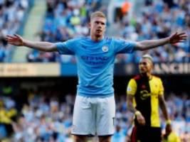Internationaler Fußball: Manchester City vermöbelt Watford