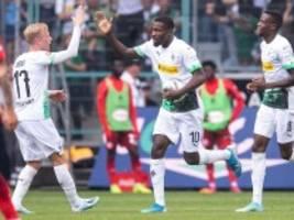 2:1 gegen Düsseldorf: Thuram therapiert Gladbach