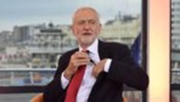 Jeremy Corbyn: Labour vertagt Entscheidung über Brexit-Kurs