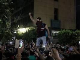 Demonstranten festgenommen: In Ägypten brodelt es wieder