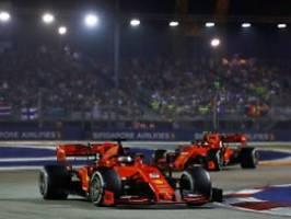 Entfesselt zum ersten Saisonsieg: Vettel rast bei Ferrari-Doppelsieg vorweg